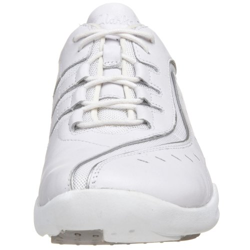 Clarks Womens Wave.wheel Sneaker Bianco