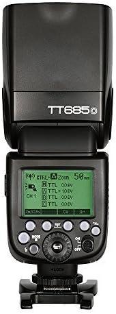 Godox TT685O Thinklite TTL GN60 Camera Flash Compatible for Olympus Panasonic Cameras E-TTL II Autoflash,Godox XPro-O Flash Trigger Compatible for Olympus Panasonic Cameras