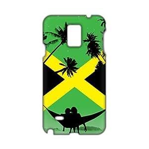 Angl 3D Case Cover Bandeira da Jamaica Phone HTC One M8
