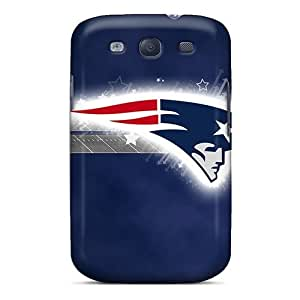 Awesome New England Patriots Flip Case With Fashion Design For Galaxy S3