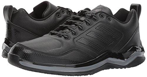 adidas Men's Freak X Carbon Mid Cross Trainer, BlackIron, 13 Medium US