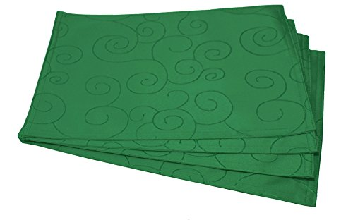 table placemats green - 2