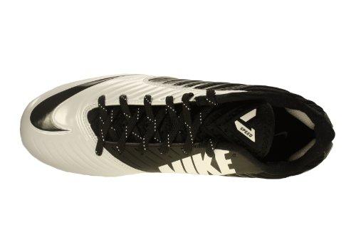 Nike Herren Vapor Speed Low TD geformte Fußballschuh Schwarz / Weiß / Schwarz