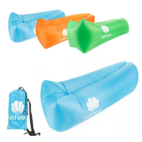 Inflatable Lounger Carrying Festival Camping product image