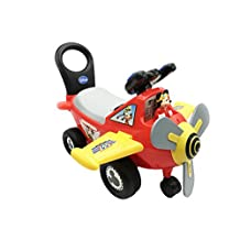 Kiddieland Toys Disney Mickey Mouse Clubhouse Plane Light and Sound Activity Ride-on