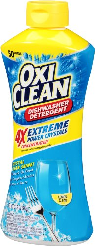 OxiClean Dishwasher Detergent, Lemon Clean, 31.7 Oz by OxiClean (Image #5)
