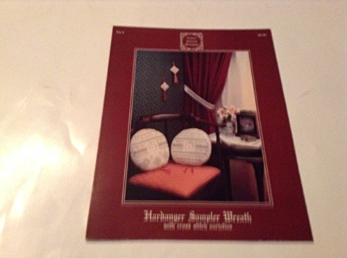 Hardanger Sampler Wreath Cross Stitch Book 1989