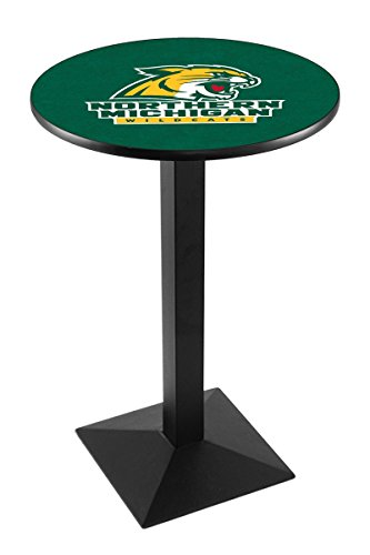 Holland Bar Stool L217B Northern Michigan University Officially Licensed Pub Table, 28