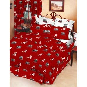 Amazon.com: ALABAMA Crimson Tide Bed-in-a-Bag- 6PC Set ...