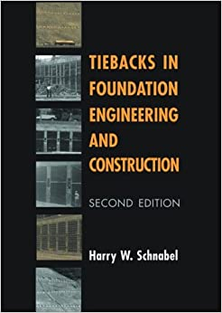 Tiebacks in Foundation Engineering and Construction