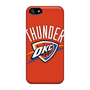 New Arrival Case Cover With WfU4707xZyG Design For Iphone 5/5s- Nba Oklahoma City Thunder 2