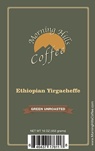 5 Pounds Ethiopian Yirgacheffe Green Unroasted Coffee Beans by Morning Hills Coffee (Image #4)