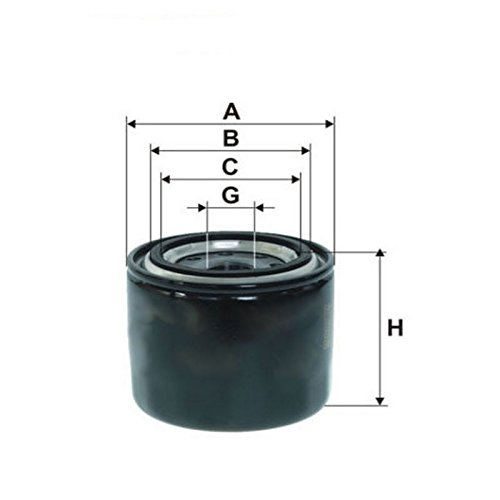 Filters QSP Car Oil Filter Spin-On QSPWOF002834