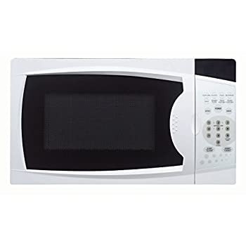 0.7 Cu. Ft. 700w Countertop Microwave Oven In White 0