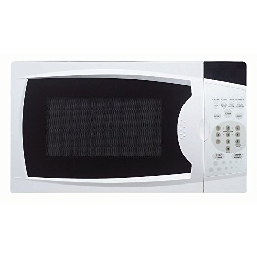 (Magic Chef MCM770W 0.7 Cu. Ft. 700W Oven in White Countertop Microwave. 7)