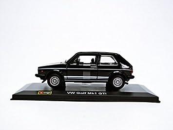 Bburago - 43205bk - Volkswagen Golf MK I - Escala 1/32: Amazon.es: Juguetes y juegos