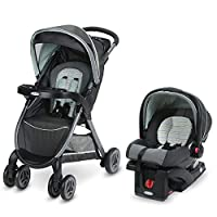 Experience the convenience of the one-second fold, with Graco's FastAction Fold Click Connect Travel System. This lightweight stroller features a one-second, one-hand fold, so that it's easy to fold up at a moment's notice, keeping your other hand fr...
