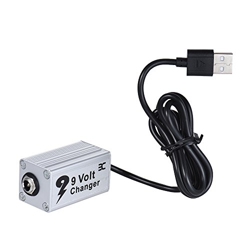 EX USB Voltage Step Up Converter 5V to 9V Transformer Designed for Analog Guitar Effects Pedal in a Desktop Application e.g. Pedals Used in Multitrack or Online Situation - Evc Lamp