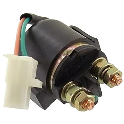 Discount Starter & Aternator Starter Solenoid Relay Replacement For Yamaha Motorcycle 1981-1983 XJ550 1980-1983 XJ650 1981-1983 XJ750 1983 XJ900: Automotive
