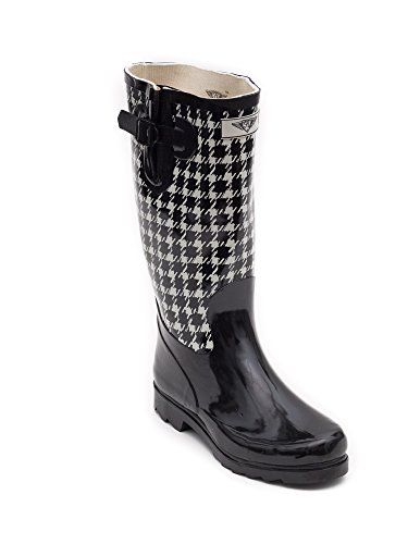 Evigt Unga - Womens Wellie Regn Boot Checker Board