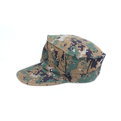 (Desert Digital Camouflage Military Style Usmc Marines 8 Point Fatigue Hat (L(7 3/8