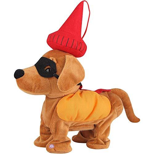 Gemmy Animated Dancing Weiner Dog Halloween Decoration -