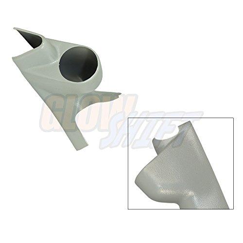 52 Single (2003-2007 Ford Super Duty Power Stroke 52mm Gray Single Pillar Gauge Pod)