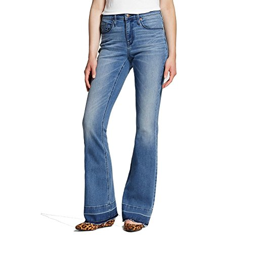 Mossimo Women's High-Rise Flare Jeans Medium Wash (0/25R) from Mossimo
