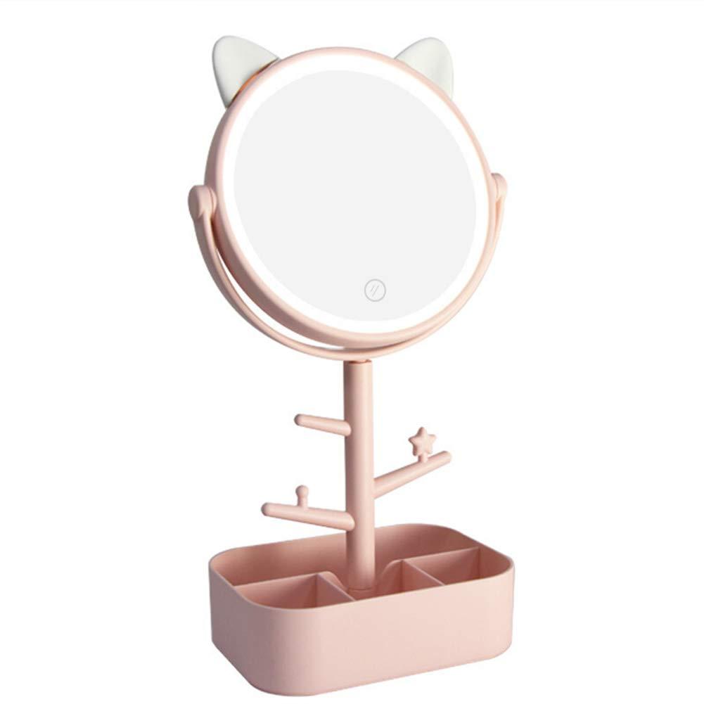 Regalo práctico del espejo de maquillaje del escritorio HD del LED ...