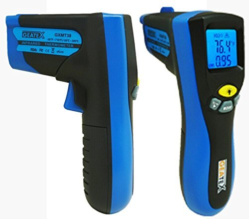 Geatex GXMT38 Non-Contact Infrared Thermometer with Laser Targeting