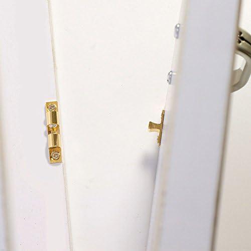 60mm Yosooo Solid Brass Ball Catch Copper Door Lock Easy Installation Kitchen Furniture Cabinet Wardrobe Kit Easy Open//Close 1 Pair 2pcs