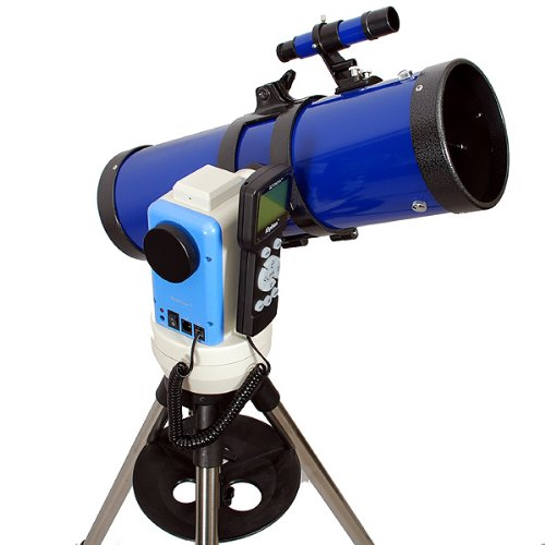 "TwinStar Blue 6"" iOptron Computerized GPS Reflector Telescope"