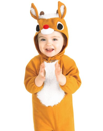 Rubie's Costume Co Reindeer Costume, Toddler, Toddler Girls Reindeer Costume