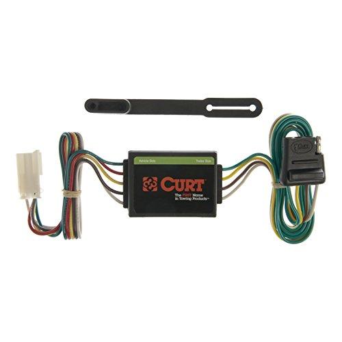 CURT 55339 Vehicle-Side Custom 4-Pin Trailer Wiring Harness for Select Isuzu Trooper, Trooper II SUV, Acura SLX SUV