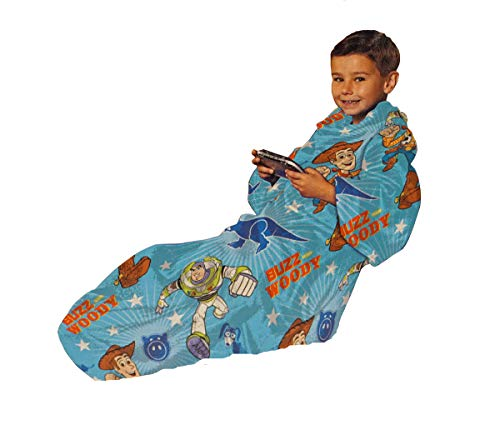 (Disney Toy Story Comfy Throw (Blanket With Sleeves))
