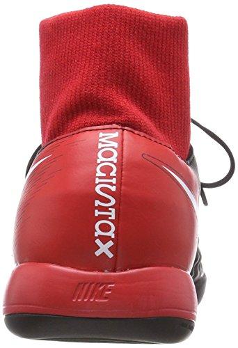 Nike Magistax Onda II DF IC, Scarpe da Calcio Uomo Schwarz (Schwarz/Weiß-Universität Rot 061)