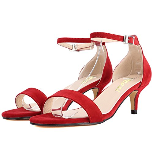 Sandalias de Material Mujer Para VOCOSI Sint dq0ptdw