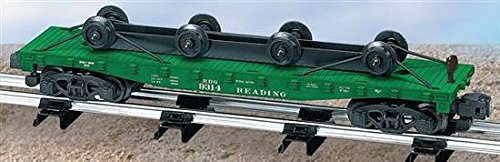 Used, American Flyer S Gauge Reading Flat CAR W/Wheel Load for sale  Delivered anywhere in USA