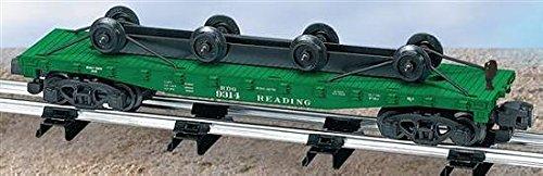 American Flyer S Gauge Reading Flat CAR W/Wheel Load