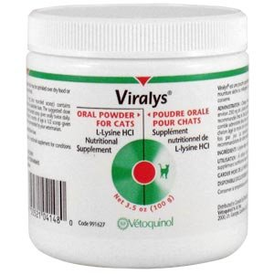 Vetoquinol Viralys poudre 100 Gram Jar