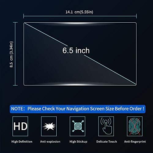 JXRIQC 車のGPSナビゲーター鋼強化ガラススクリーンプロテクター保護フィルムLCDスクリーンステッカー、フォルクスワーゲンティグアン2016 2017