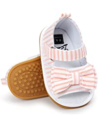 Baby Toddler Boy Girls Bow Knot Sandals First Walker Shoes