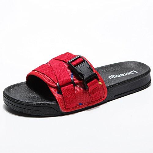 trascinare fankou personalizzato di antiscivolo Pantofole 44 la marea e cool spiaggia balneare scarpe estate da coppie e maschio moda Rosso femmina qOA1Zq