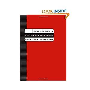 Casebook for Abnormal Psychology