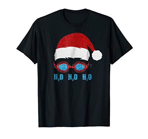 - Ho Ho Ho H2o H2o H2o Funny Santa Hat TShirt