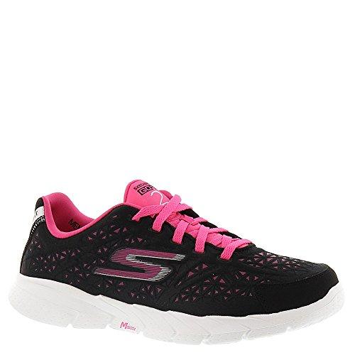 Skechers 13923-BKHP - Zapatos para correr para mujer Negro / Hot Rosa