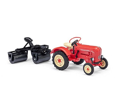 Busch 50010 Tractor Pulling Rollers HO Scale Model Vehicle