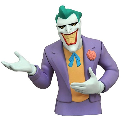 Batman Bank Bust - Diamond Select Toys Batman The Animated Series: The Joker Vinyl Bust Bank Statue