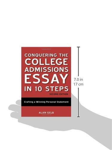 conquering college admissions essay