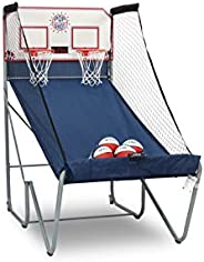Pop-A-Shot Official Home Dual Shot Basketball Arcade Game - 16 Different Games - 6 Audio Options - Near 100% S